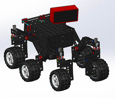 Image of the Open Source Rover