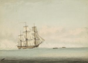 HMS Endeavour 1794 off New Holland